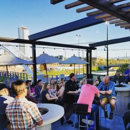 Our craft beer bellies are full! Great time last night at our @goodriverbeerco beer dinner! The weather was incredible and the perfect way to kick off Memorial Day weekend in the #stateofcraftbeer!