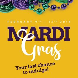 Let the good times roll! Denver's best #mardigras2018 food + drink celebration February 9th - 13th. Don't miss it, beignets, brews, fried oysters and more, only at the Ale House!